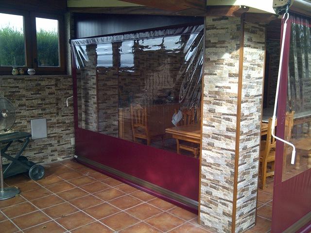 Cortinas de lona para terrazas trendy amazing cortinas - Lonas para terrazas ...