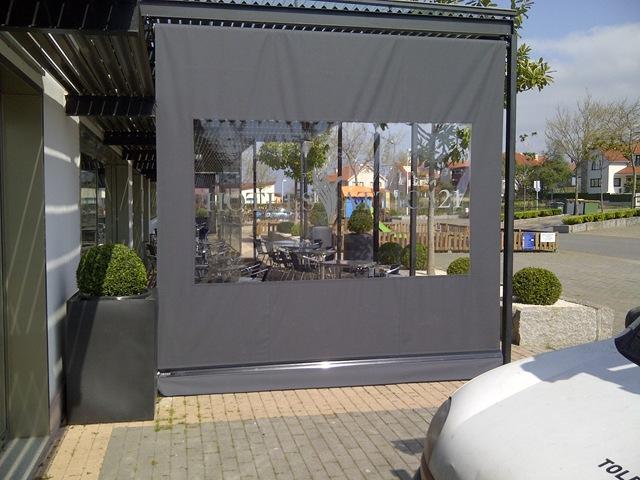 Verticales cortina - Lonas para terrazas ...